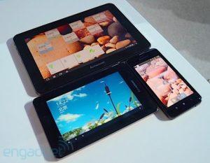 Lenovo anuncia tabletas y teléfonos de la serie S