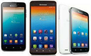 Lenovo presenta los teléfonos inteligentes S930, S650 y A859