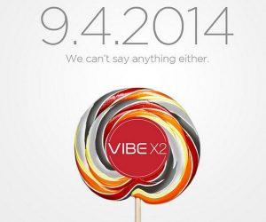 Lenovo se burla del teléfono inteligente Vibe X2 con Android L