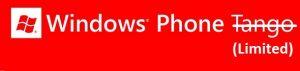 Limitaciones de Windows Phone Tango detalladas