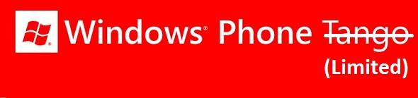 Limitación de Windows-Phone-Tango