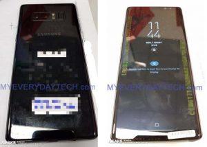 Live Galaxy Note 8 se filtra en línea en imágenes por primera vez