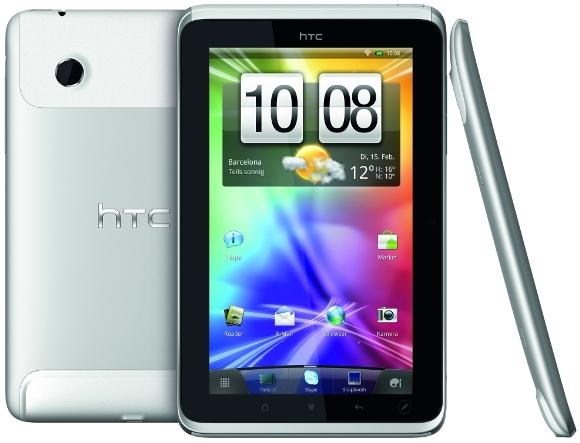 Llueven tabletas, agregue otra: HTC Flyer