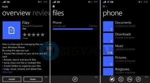 """Los """"Archivos"""" del Administrador de archivos de Windows Phone ya están disponibles en la tienda"""