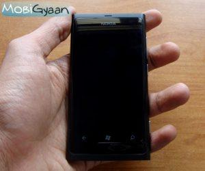 Nokia Lumia 800: Primeras impresiones