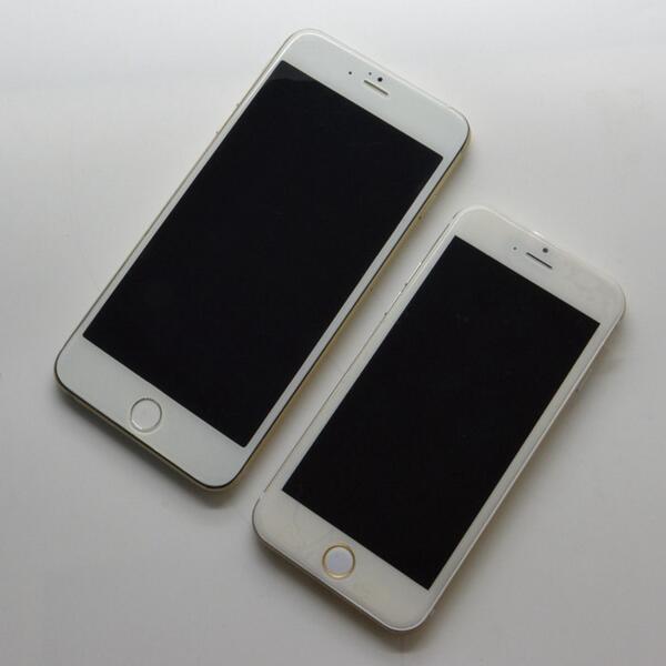 Fugas de phablet de iPhone 6 y iPhone 6