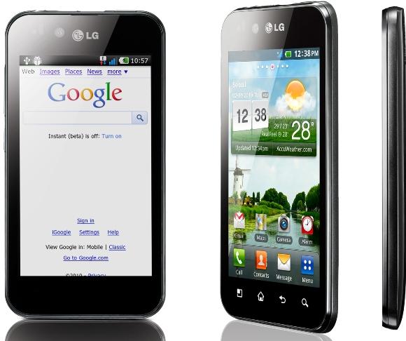 LG Optimus Black ahora disponible en India a Rs.  20,990