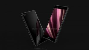 Los renders de Sony Xperia XZ4 Compact filtrados en línea revelan enormes biseles para un teléfono inteligente 2019
