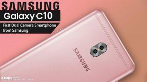 Los renders del Samsung Galaxy C10 revelan la configuración de la cámara dual