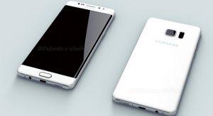 Los renders del Samsung Galaxy Note 6 revelan una pantalla de doble curva