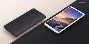 Los renders oficiales de Xiaomi Mi Max 3 lanzados antes del lanzamiento del 19 de julio muestran una pantalla 18: 9 con cámaras traseras duales