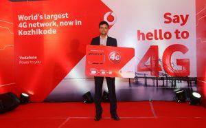 Los servicios Vodafone 4G ahora se lanzan en Kozhikode;  Ofrece roaming internacional en 4G