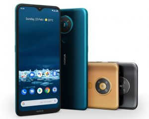 Los smartphones económicos Nokia 5.3 y Nokia C3 lanzados en India