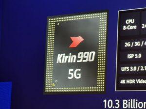 Se anuncia el chipset insignia Huawei Kirin 990 con módem 5G incorporado