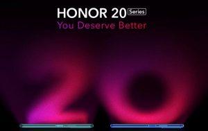 Los teléfonos inteligentes de la serie Honor 20 serán exclusivos de Flipkart en India