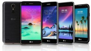 Los teléfonos inteligentes de la serie LG K anunciados antes del CES 2017