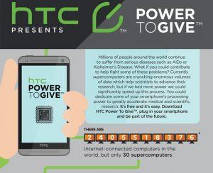 Los teléfonos inteligentes pueden ayudar a curar el SIDA y el cáncer, HTC explica cómo