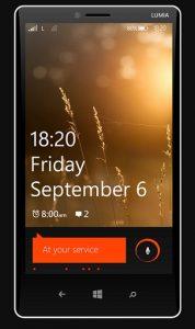 Lumia 1820;  primer teléfono en deshacerse de la etiqueta 'Nokia'