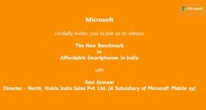 Lumia 540 asequible Windows Phone se lanzará en India mañana