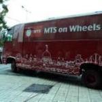 MTS marca 'MTS on Wheels' en Bengala Occidental