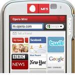 MTS se asocia con Opera Software para proporcionar el navegador Opera Mini en su portal
