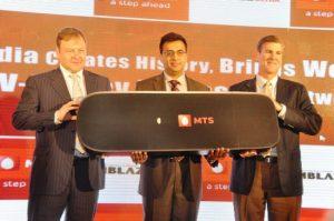 MTS trae la primera red CDMA EV-DO Rev.B Phase II del mundo a India