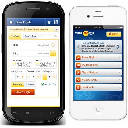 MakeMyTrip lanza la aplicación para Android e iOS