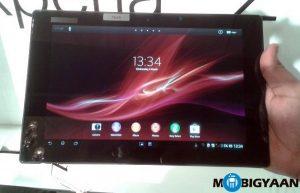 La tableta Sony Xperia Z se lanzó en India por Rs.  46999