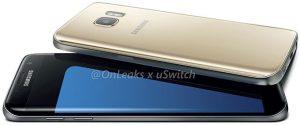 Más renders de la superficie del Samsung Galaxy S7 y Galaxy S7 edge