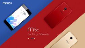 Meizu M5c lanzado, cuenta con Android 7.0 y red 4G LTE