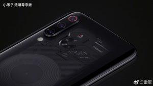Se confirma que Xiaomi Mi 9 Transparent Edition viene con 12GB de RAM