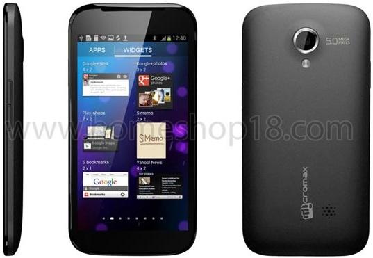 Micromax A100, el teléfono inteligente Android 4.0 de 5 pulgadas aparece en línea