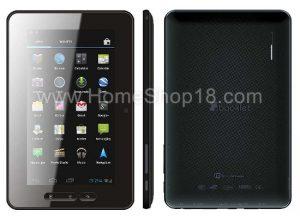 Micromax Android ICS corriendo tableta detectada en línea por Rs.  7,999