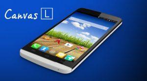 Micromax Canvas L con pantalla de 5.5 pulgadas y Android Kitkat disponible en línea para Rs.  10,499