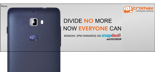 Micromax-snapdeal-teaser