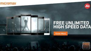 Micromax anuncia oficialmente la disponibilidad de la vista previa de Jio 4G para sus teléfonos inteligentes