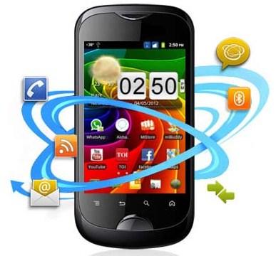 Micromax presenta el teléfono inteligente A80 Infinity en India en Rs.  8.490