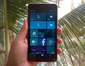 Microsoft Lumia 640 XL LTE con soporte 4G LTE lanzado en India para Rs.  17399