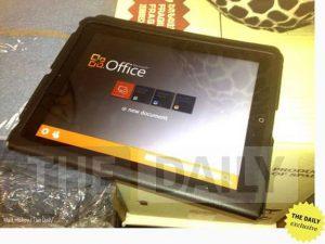 Microsoft Office para iPad detectado