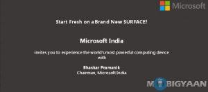Microsoft Surface Pro 4 se lanzará el 7 de enero en India