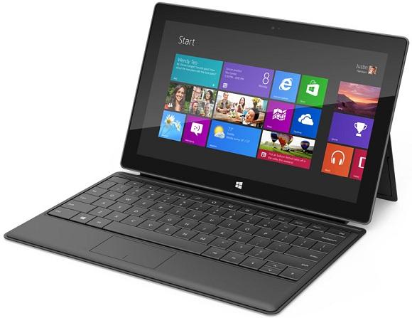 Microsoft Surface: hoja de especificaciones y galería de imágenes