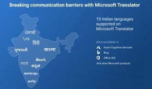 Microsoft Translator agrega soporte para cinco idiomas indios más