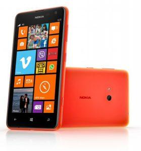 Lanzamiento de Nokia Lumia 625