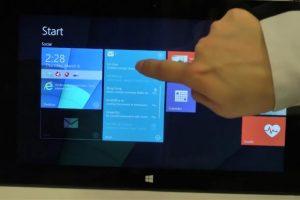 Microsoft trabaja en mosaicos en vivo interactivos para el futuro