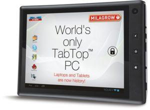 Milagrow lanza la tableta delgada TabTop 7.4 en India