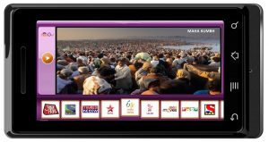 Mira Maha Kumbh Live en tu móvil con nexGTv