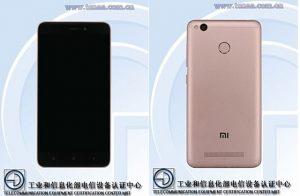 Misterioso teléfono inteligente Xiaomi con pantalla HD de 5 pulgadas y escáner de huellas digitales detectado