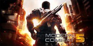 Modern Combat 5: Blackout ahora disponible para Android, iOS, Windows Phone y Windows