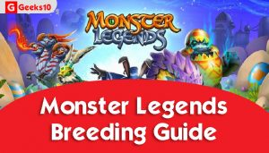 Monster Legends: Guía de cría (2021)