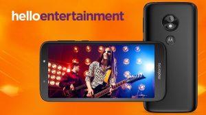 Moto E5 Play Android Oreo (Go Edition) anunciado con pantalla Max Vision 18: 9 de 5.3 pulgadas